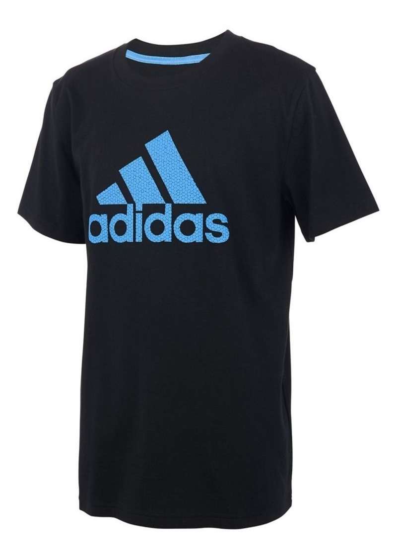 Adidas Boy's Logo Cotton Tee