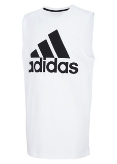 Adidas Boy's Logo Graphic Cotton Jersey Tee