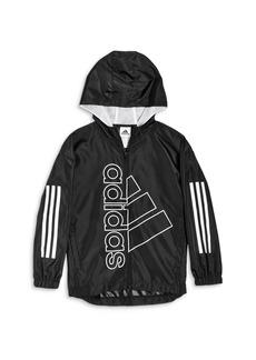 Adidas Boys' Logo Training Jacket - Big Kid