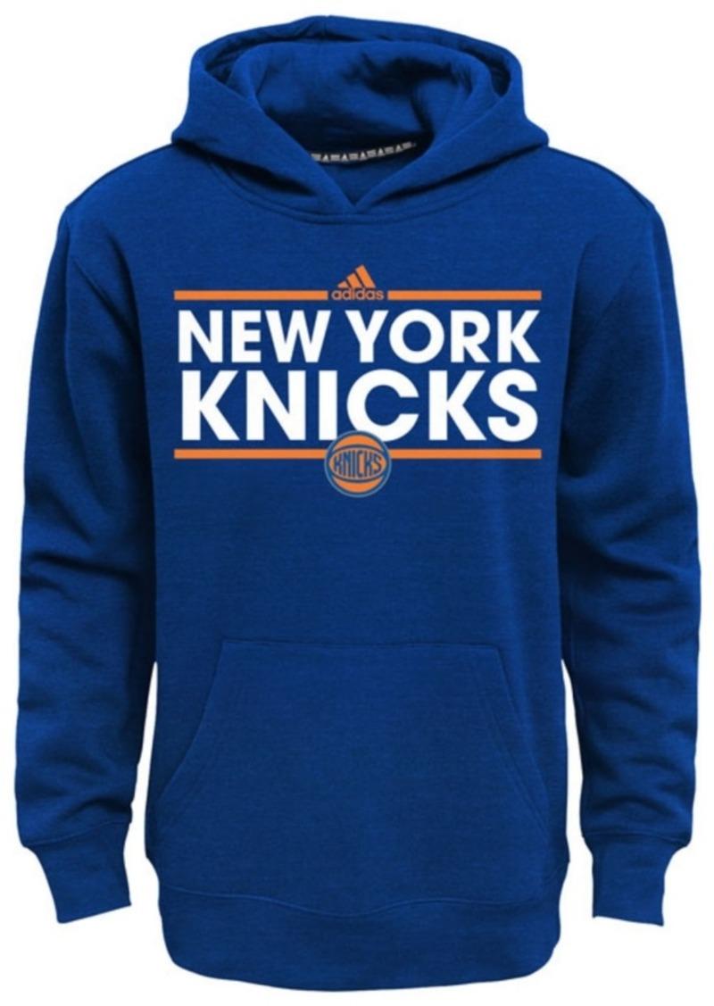 adidas Boys' New York Knicks Power Play Hoodie