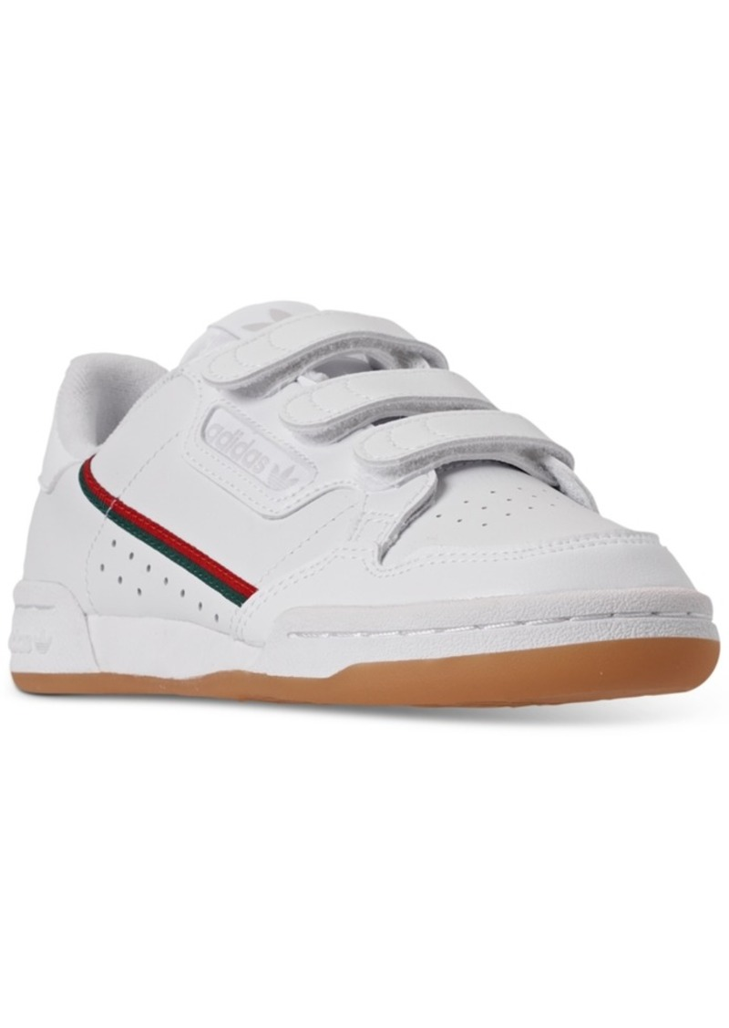 adidas Boys Originals Continental 80 Cf Stay-Put Closure Casual Sneakers from Finish Line
