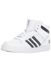 adidas Boys' Raleigh 9TIS MID K Sneaker Black/White