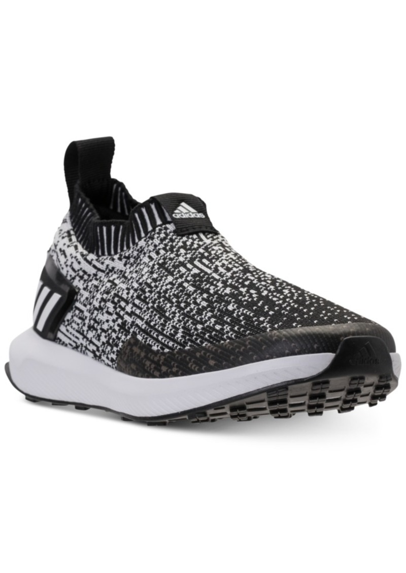 adidas Boys' RapidaRun Laceless Knit Running Sneakers from