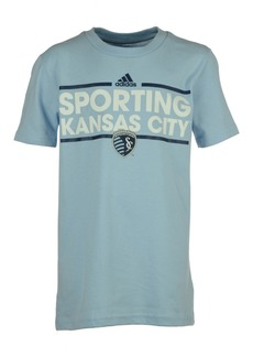 adidas San Jose Earthquakes Dassler T-Shirt, Big Boys (8-20)