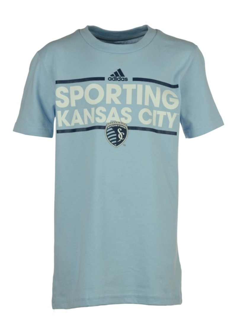 adidas San Jose Earthquakes Dassler T-Shirt, Big Boys (8-20)