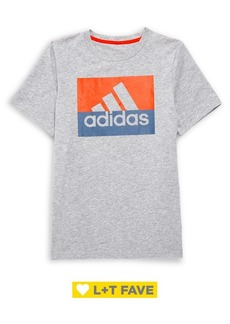 Adidas Boy's Short-Sleeve Block Boss Tee