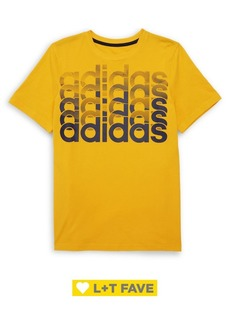 Adidas Boy's Short-Sleeve Core Repeating Tee