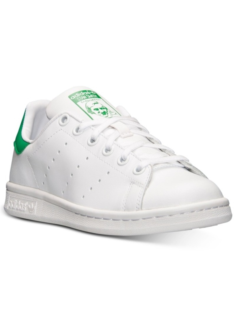 adidas Big Boys' Originals Stan Smith Casual Sneakers from Finish Line