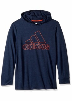 adidas Boys' Toddler Athletic Pullover Hoodie