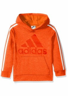 adidas Boys' Toddler Athletic Pullover Hoodie Bold Orange ADI 1