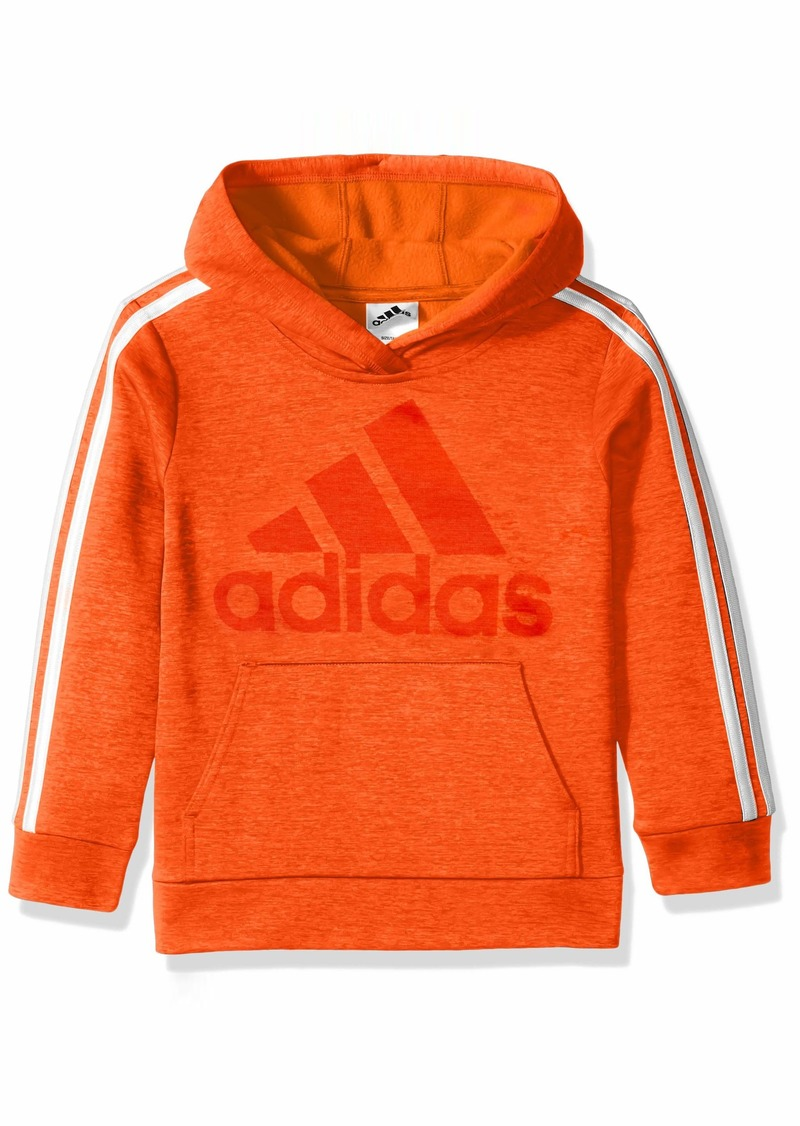 adidas Boys' Toddler Athletic Pullover Hoodie Bold Orange ADI 1
