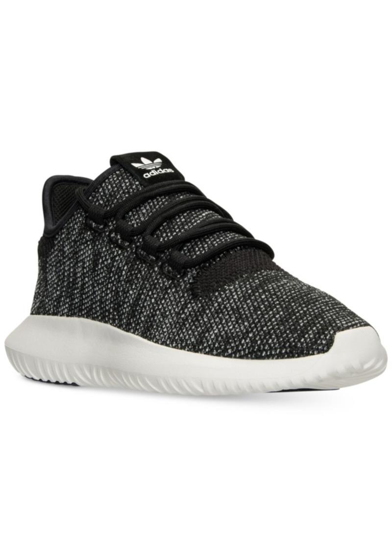 8b8c4d7d19bdd adidas Big Boys  Tubular Shadow Knit Casual Sneakers from Finish Line
