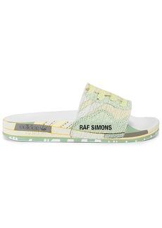 adidas by Raf Simons Peach Adilette Slide