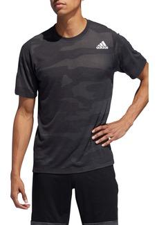 adidas Camo Burnout Crewneck T-Shirt