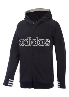 adidas Classic Athletics Zip Hoodie (Big Boys)