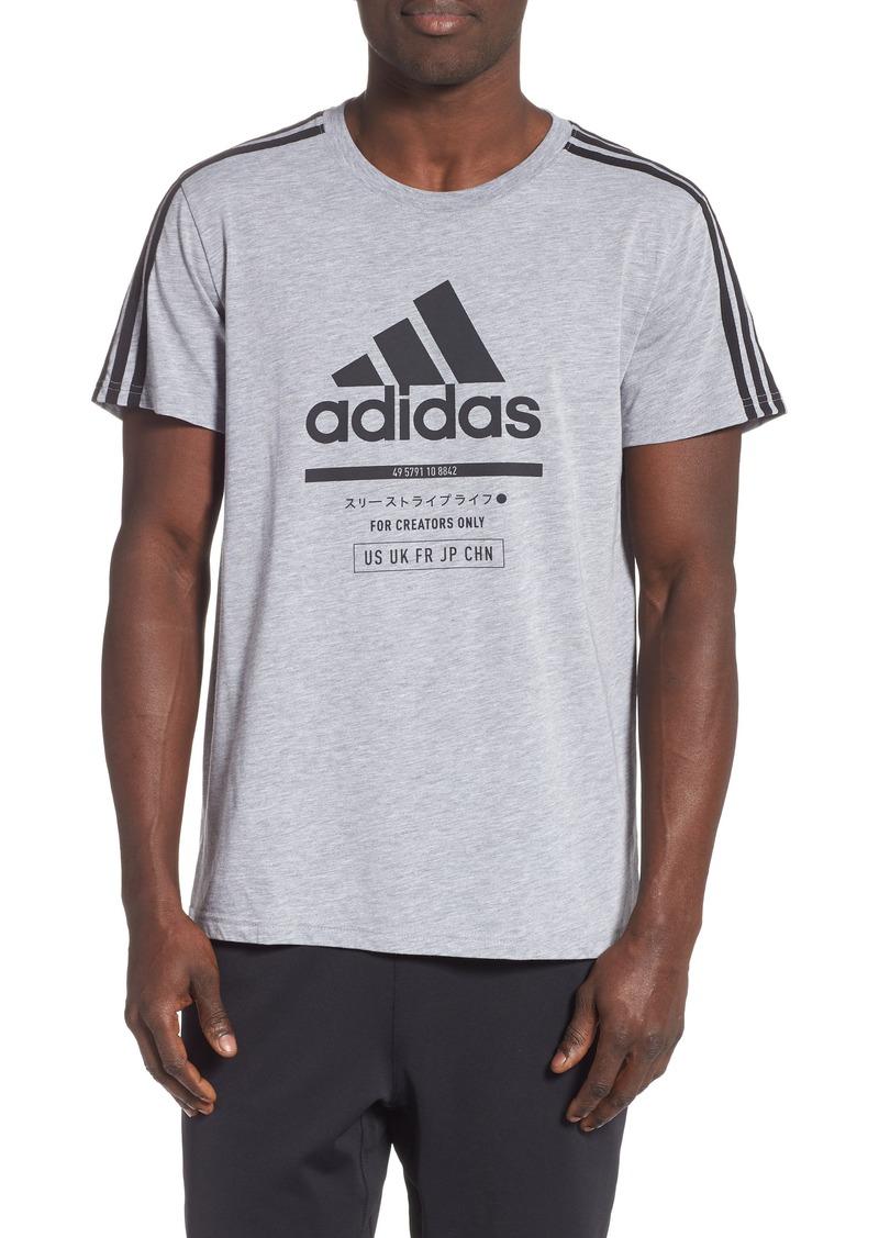 adidas Classic International Regular Fit T-Shirt