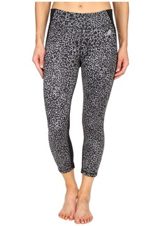 adidas Clima Studio Mid Rise 3/4 Animal Print Tights