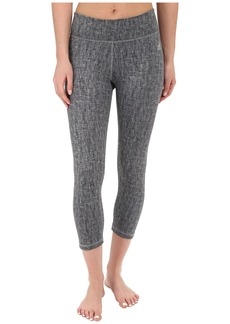 adidas Clima Studio Mid Rise 3/4 Texture Print Tights