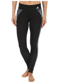 adidas Clima Studio Mid Rise Animal Print Long Tights