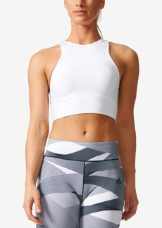 adidas ClimaCool Cropped Racerback Tank Top