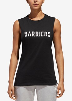 adidas ClimaLite Barriers Graphic Tank Top