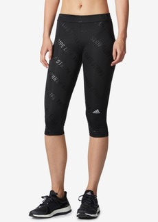 adidas ClimaLite Compression Capri Leggings