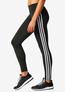 adidas ClimaLite D2M Three Stripes Long Leggings