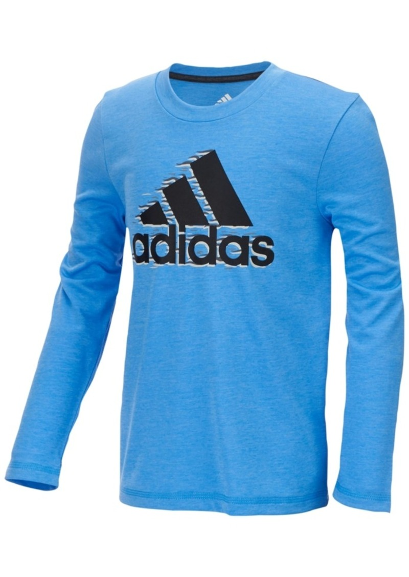 Boy's Youth adidas Climalite Long Sleeve Shirt