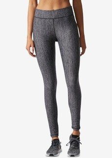 adidas ClimaLite Heathered Compression Leggings