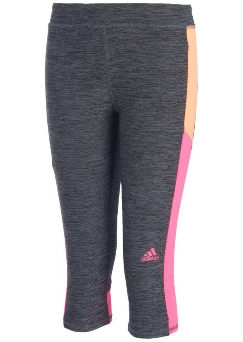 Sale Match Toddler Capri Girls Point Adidas Climalite Leggings ErqO6r