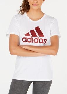 adidas ClimaLite Shine Logo T-Shirt, Created for Macy's