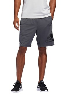 Adidas Climalite Sport Badge of Sport Jersey Shorts