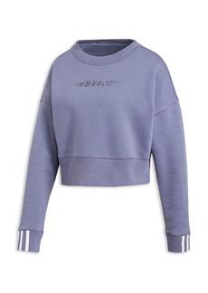 Adidas Coeeze Cropped Fleece Sweatshirt