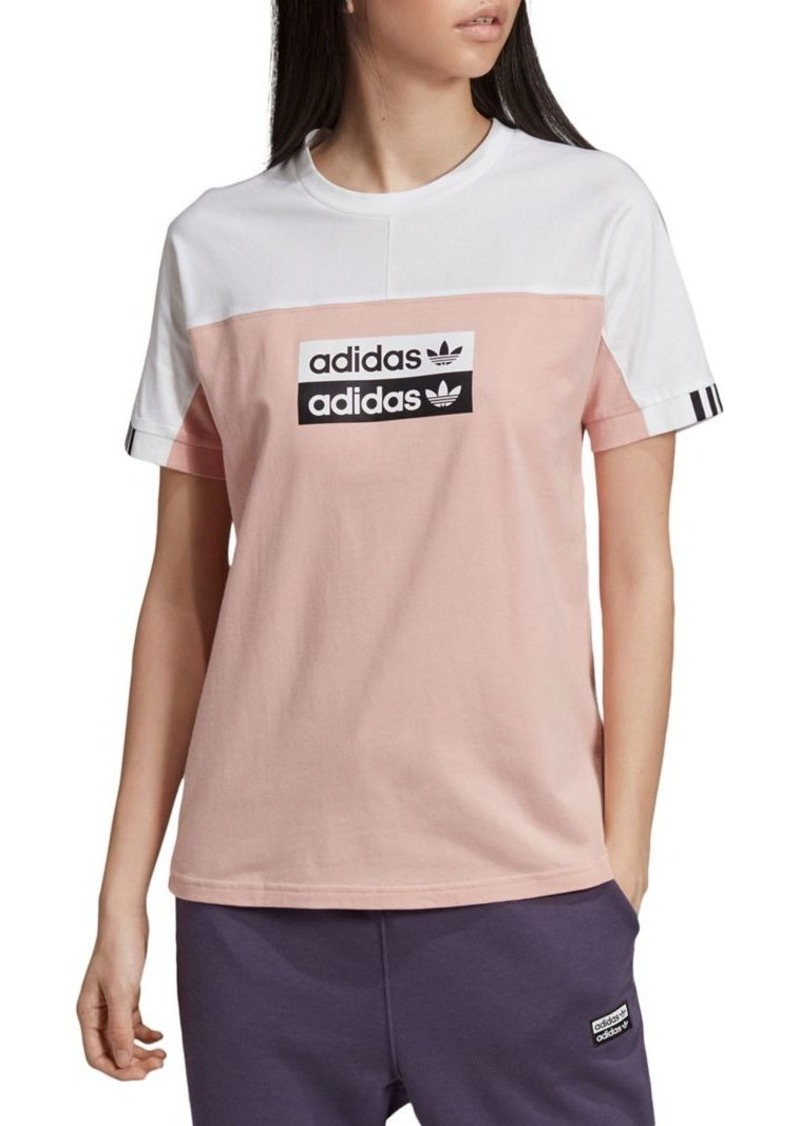 Adidas Colorblock Cotton Tee