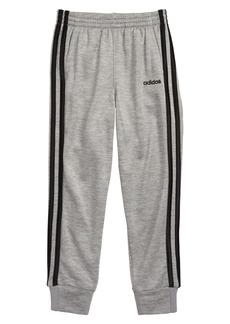 adidas Core 3-Stripes Fleece Jogger Pants (Little Boys)