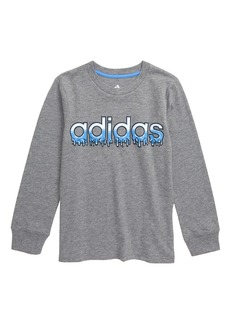 adidas Core Linear Slime Graphic T-Shirt (Toddler Boys & Little Boys)