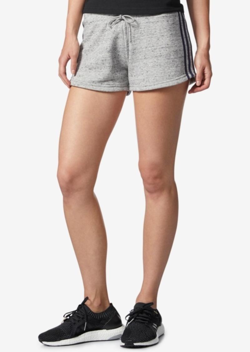 adidas Cotton Heathered Terry Shorts
