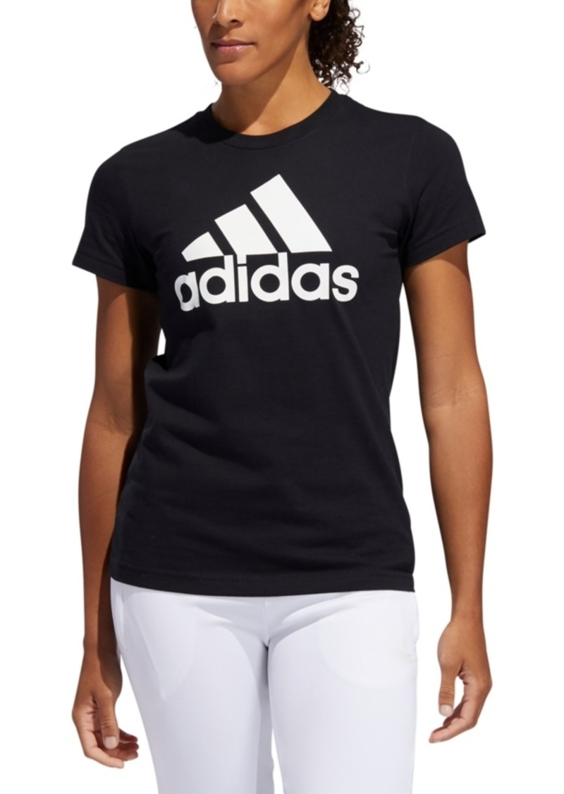adidas Women's Cotton Logo T-Shirt