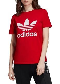 Adidas Crewneck Trefoil Tee