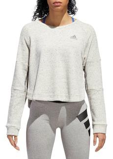 Adidas Cropped Crewneck Sweatshirt