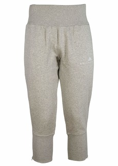 Adidas Cropped Tapered Track Pants