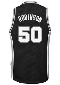 adidas David Robinson San Antonio Spurs Retired Player Swingman Jersey, Big Boys (8-20)