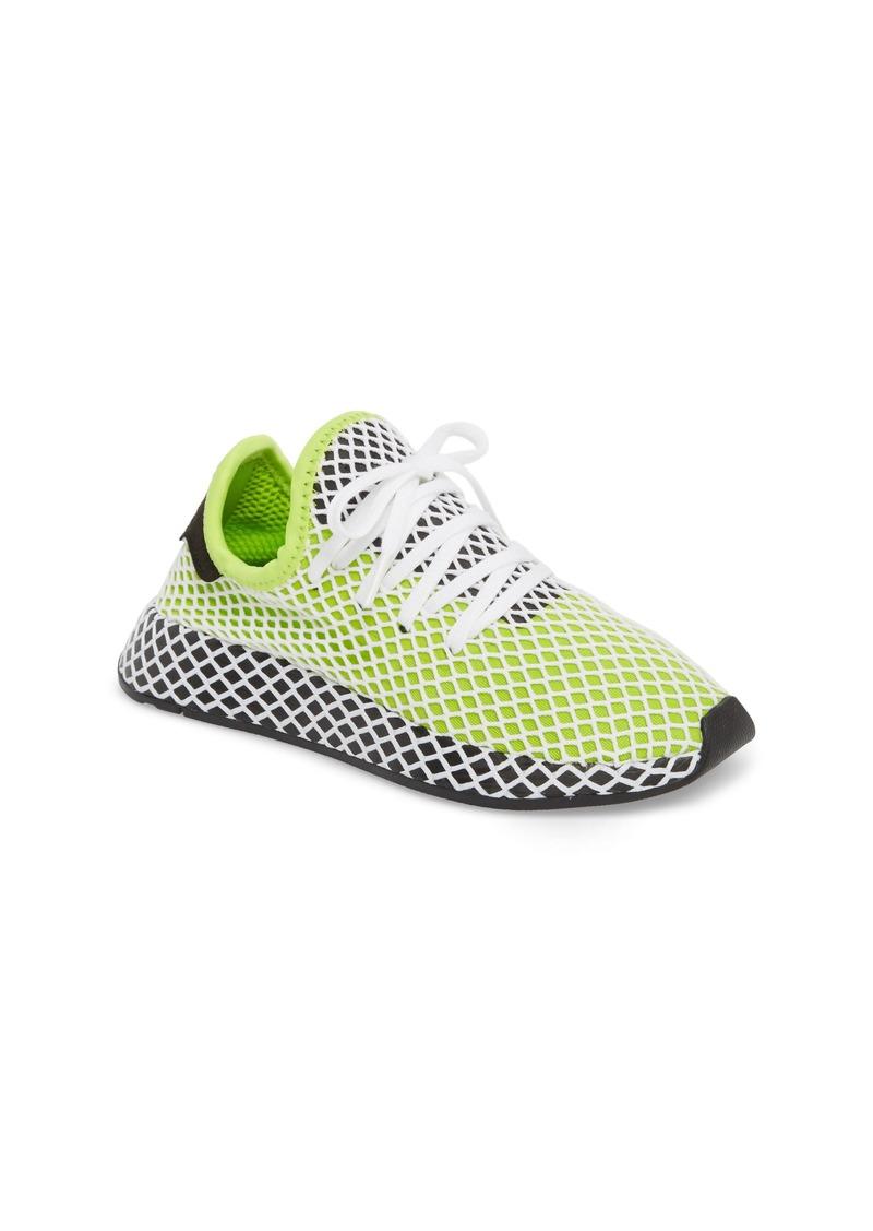newest 94981 8c6b8 adidas Deerupt Runner Sneaker (Big Kid)