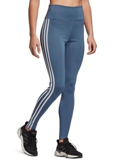 adidas Women's Design 2 Move 3-Stripe High-Rise Leggings