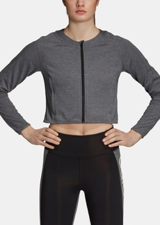 adidas Design 2 Move Cropped Track Jacket