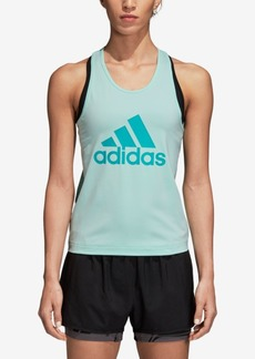adidas Designed2Move ClimaLite Logo Racerback Tank Top