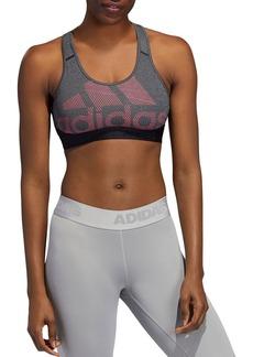 Adidas Don't Rest Alphaskin Logo Sports Bra