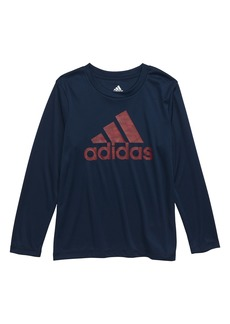 adidas Dot Camo Logo Climalite® T-Shirt (Toddler Boys & Little Boys)