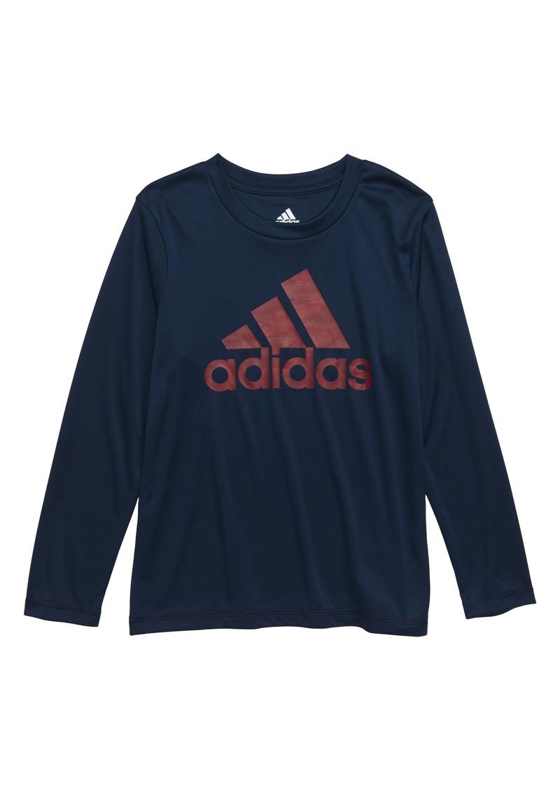 adidas Dot Camo Logo Climalite® T-Shirt (Toddler Boys & Little Boys)