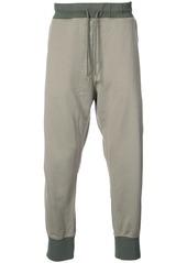 Adidas dropped crotch track pants - Green